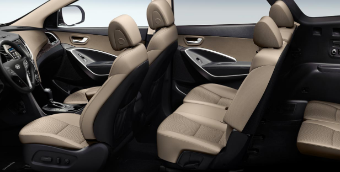Hyundai Santa Fe seating configuration