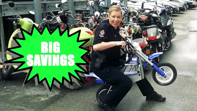 Motorcycle Auctions - Motorcycle Etiquette - Police Auction