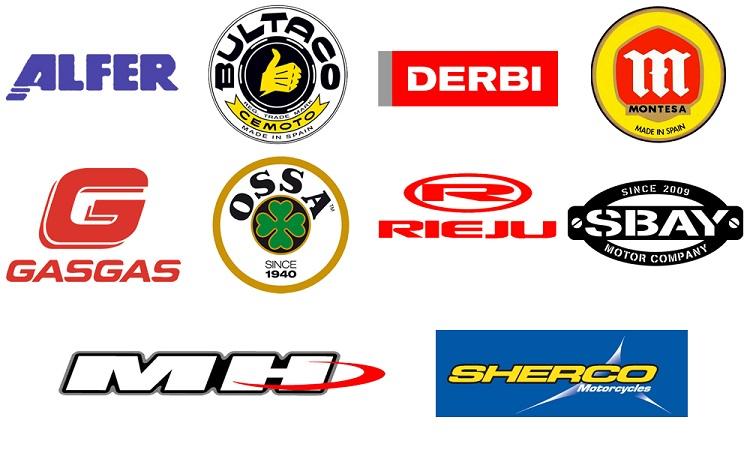 Spanish Motorcycles - Logos