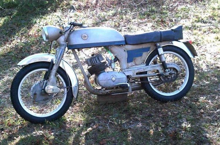 Spanish Motorcycles - Lube Motorcycles Condor 150