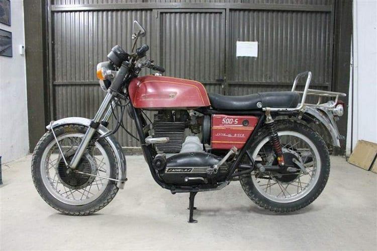 Spanish Motorcycles - Sanglas 500S