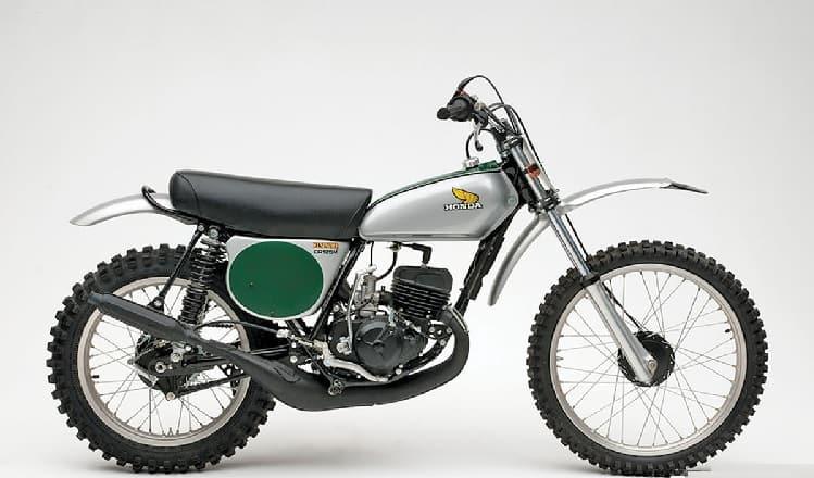 Vintage Honda Motorcycles - CR125M Elsinore