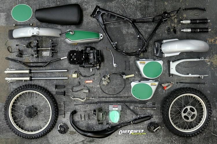 Vintage Honda Motorcycles - Elsinore Parts
