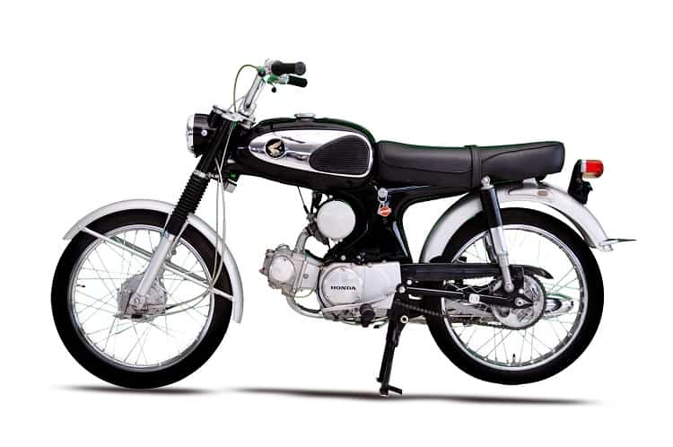 Vintage Honda Motorcycles - Honda S90