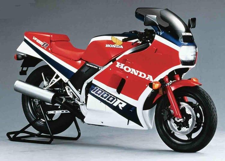 Vintage Honda Motorcycles - Honda VF1000R