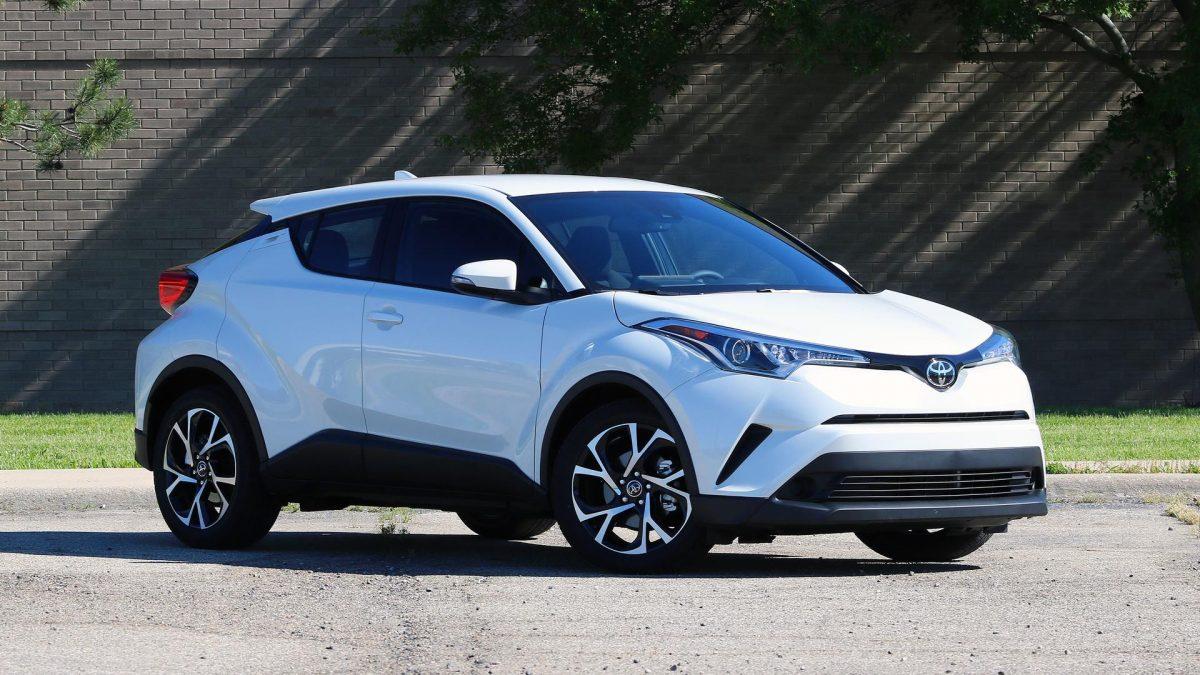 2019 Toyota Lineup - Toyota CH-R 3/4 view