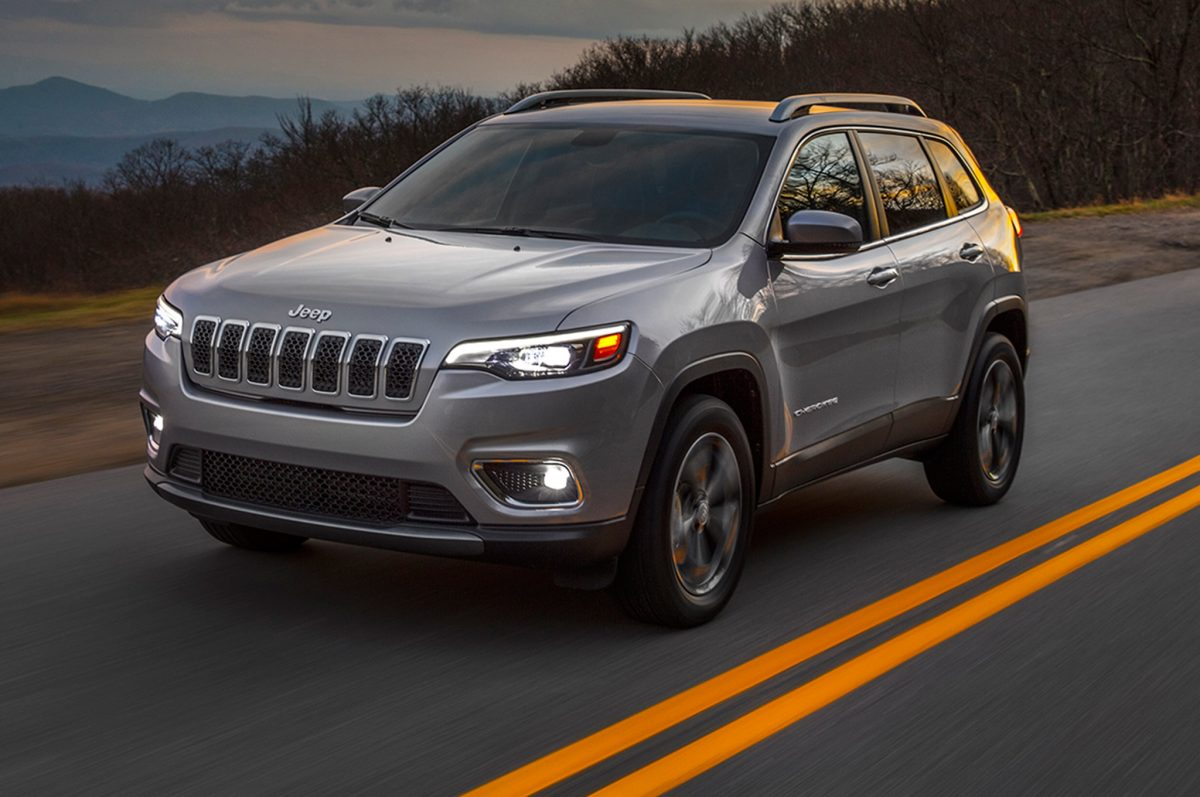 New Jeep Lineup - Jeep Cherokee for MY 2019 3/4 view