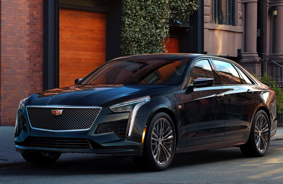 2019 Cadillac CT6 V-Sport 3/4 view