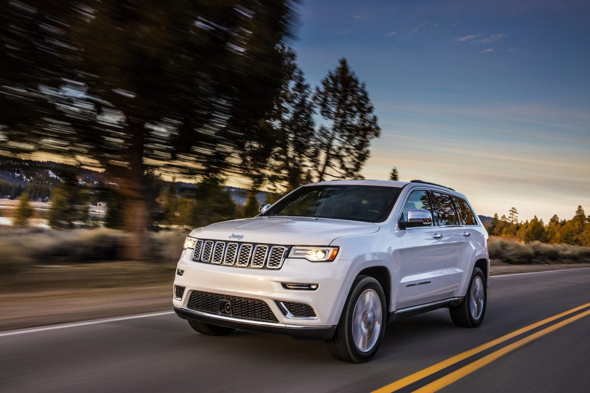 New Jeep Lineup - Jeep Grand Cherokee 3/4 view