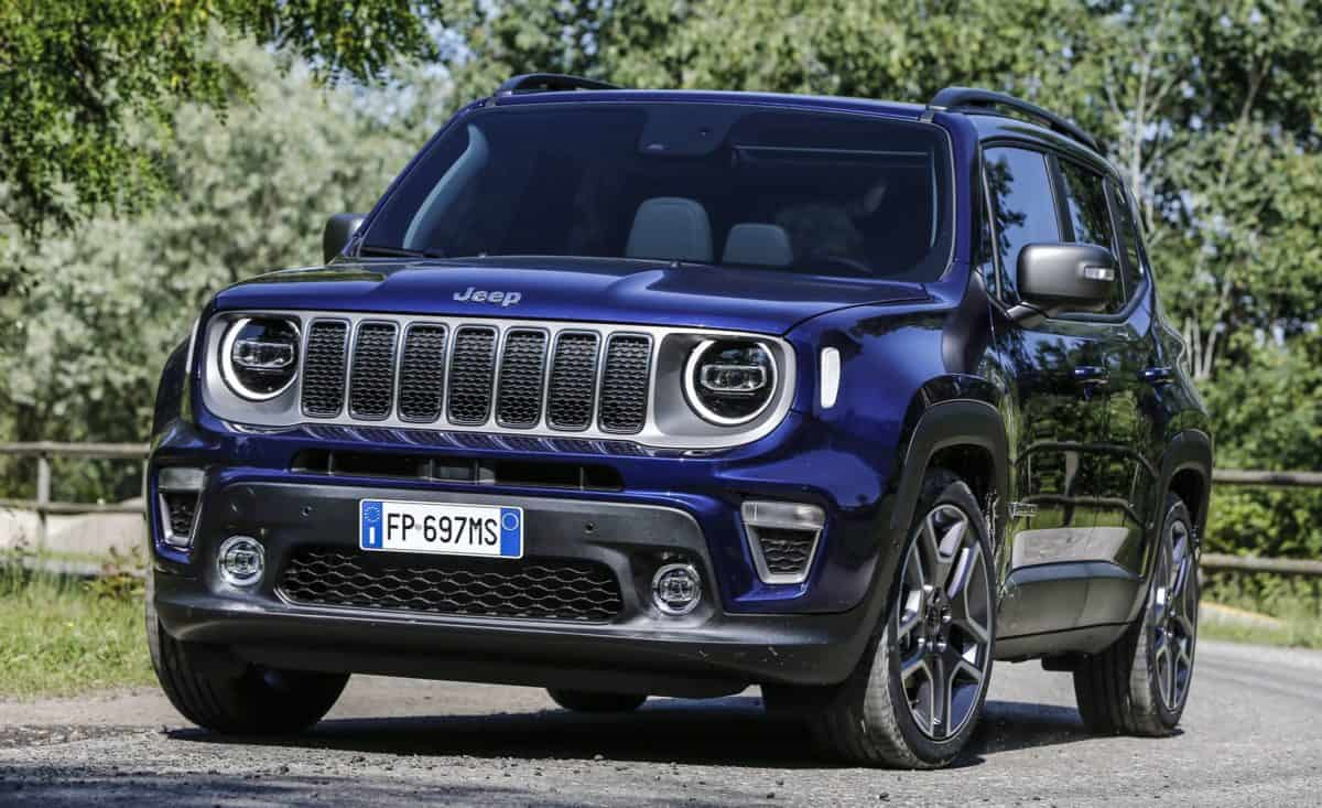 New Jeep Lineup - Facelifted 2019 Jeep Renegade