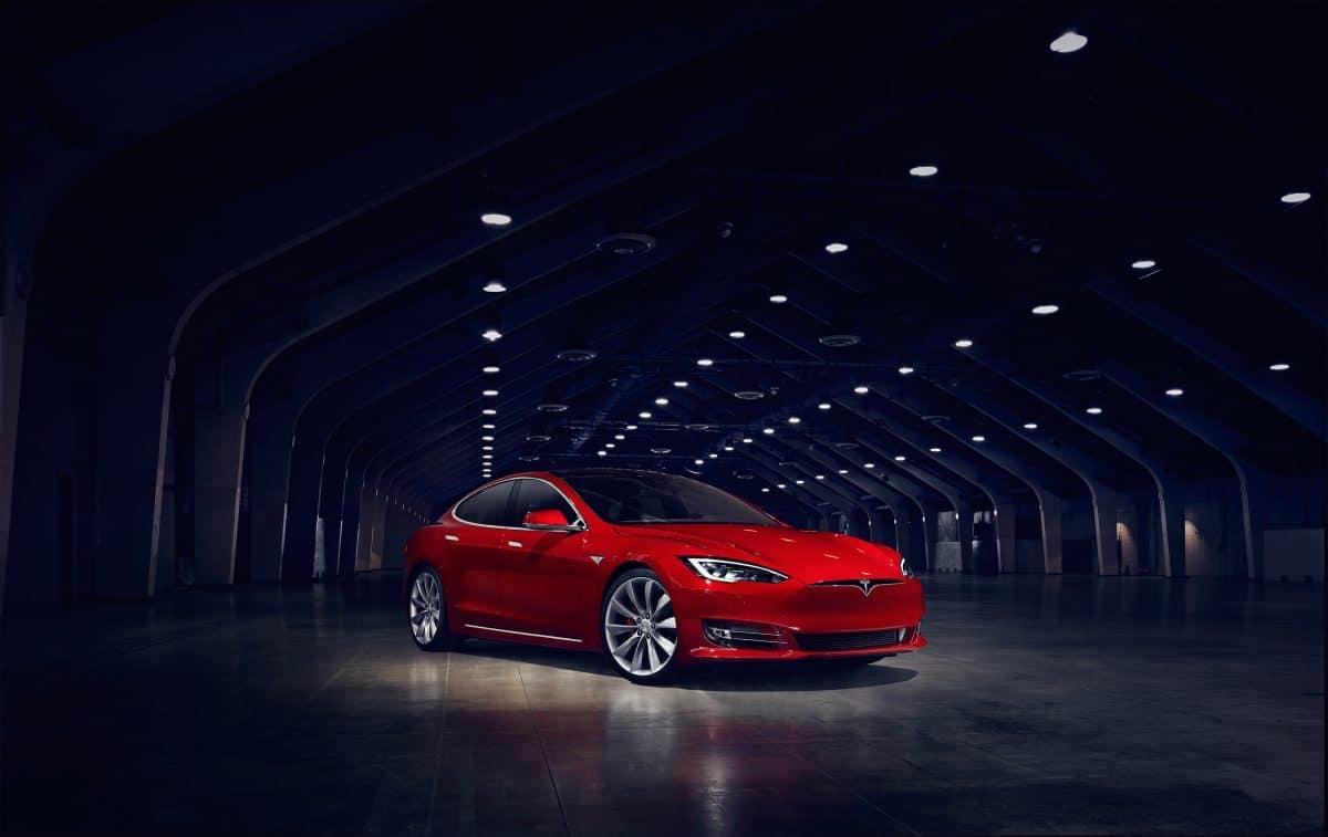 Tesla Upcoming Cars - Tesla Model S 3/4 view