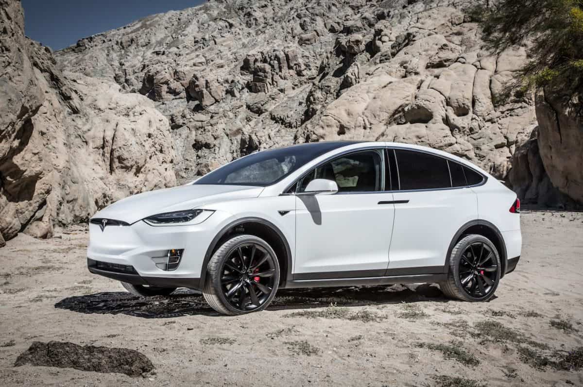 Tesla Upcoming Cars - Tesla Model X side view