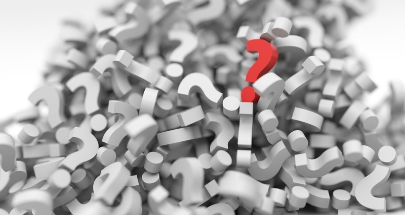 questions - question marks