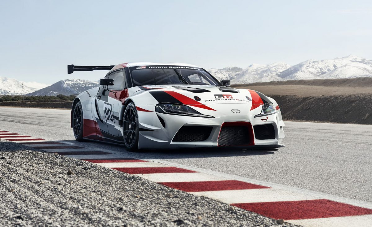 2019 Toyota Lineup - GR Supra Racing Concept is pretty much the upcoming Toyota Supra minus the racing paint job, aero body kit, and a huge wing