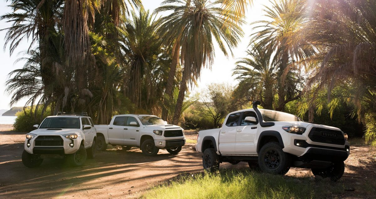 2019 Toyota Lineup - 2019 Toyota TRD Pro 4Runner, Tundra, and Tacoma