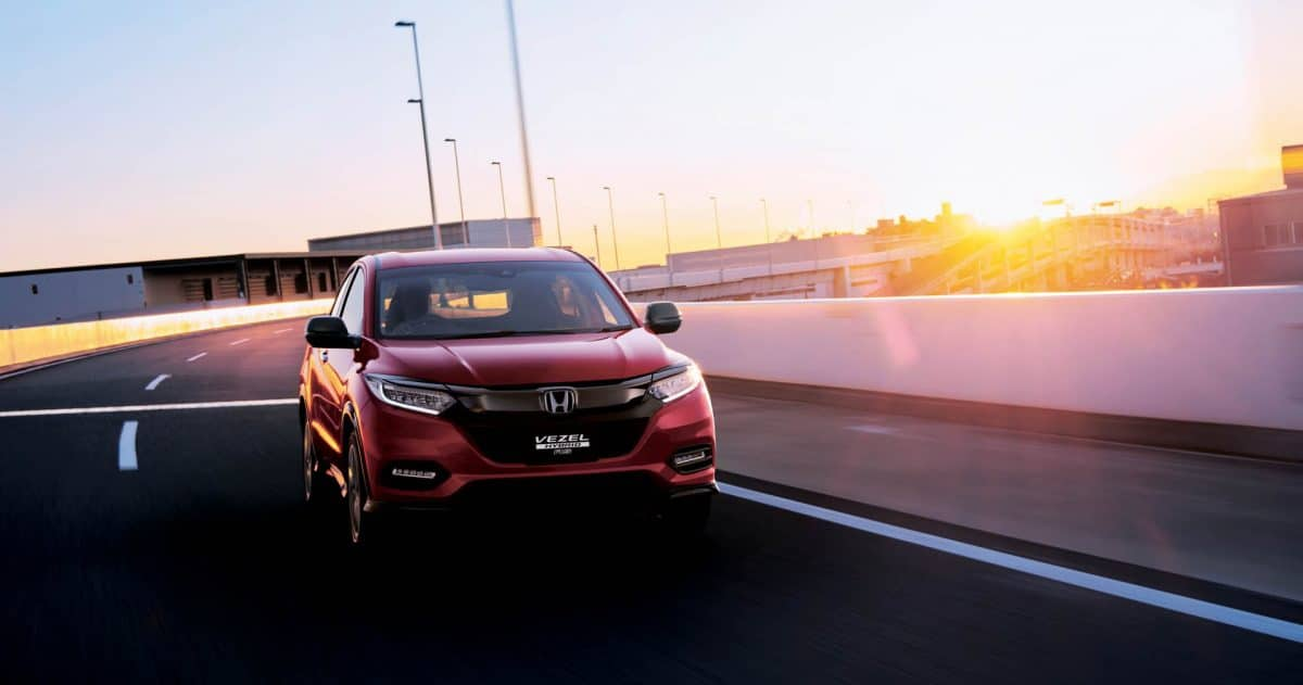 Honda 2019 - Honda Vezel (Japanese HR-V) frontal view
