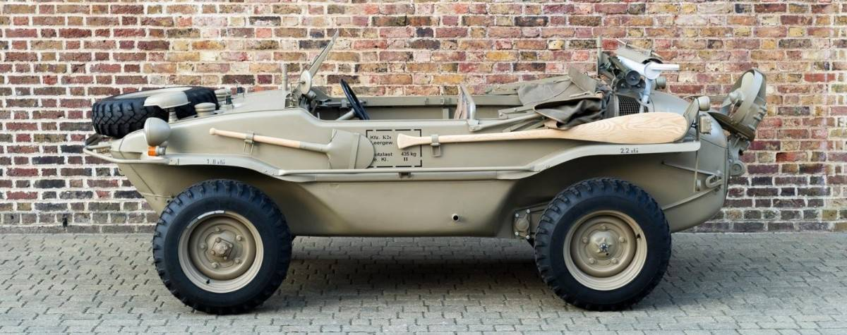 1943 VW Schwimmwagen - left side view