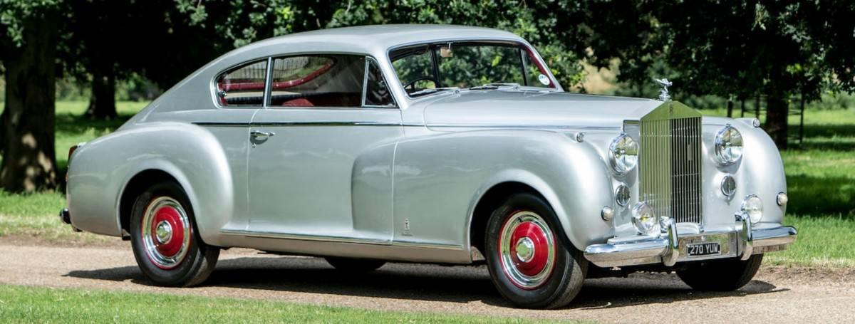 1951 Rolls-Royce Silver Dawn - right side view