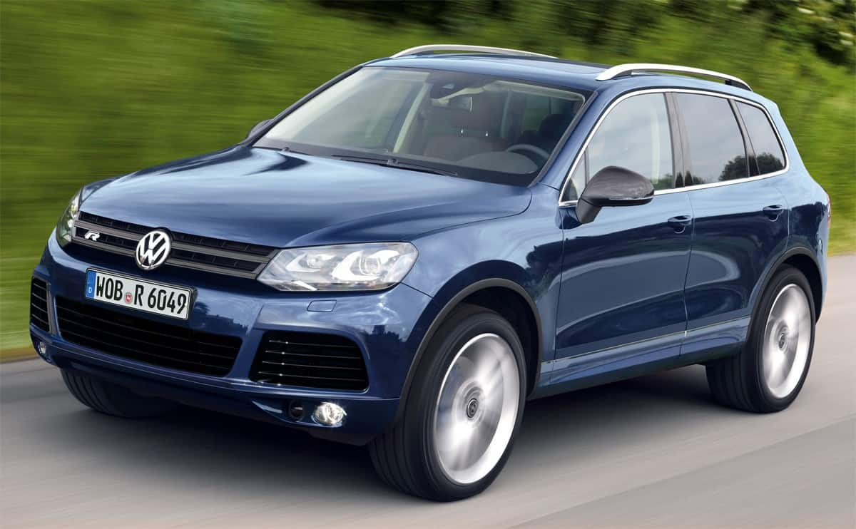 2012 Touareg Hybrid - drivers side view