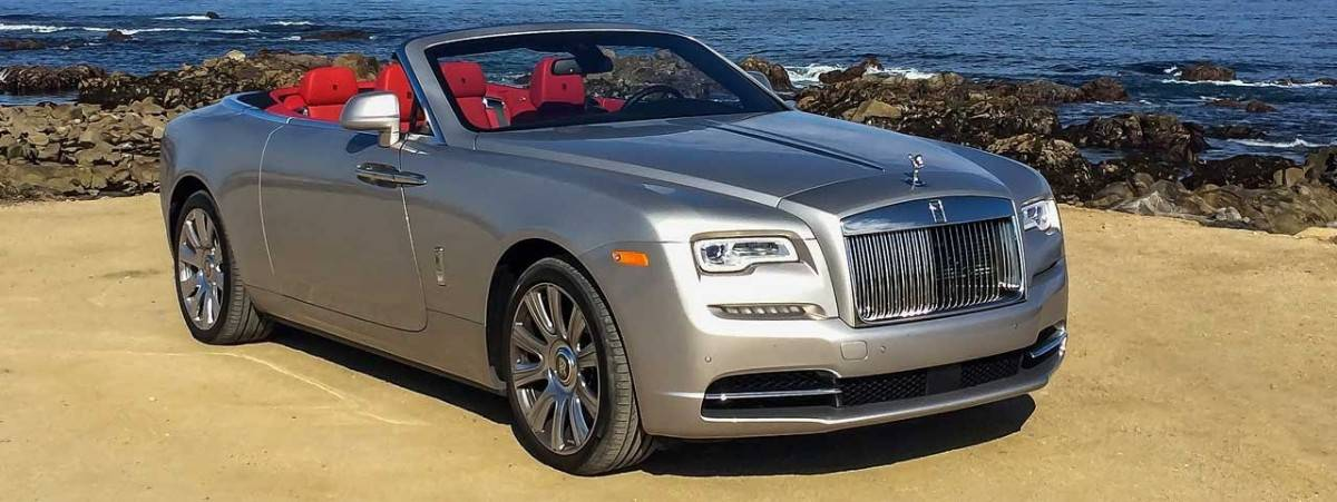 2016 Rolls-Royce Dawn - right front view