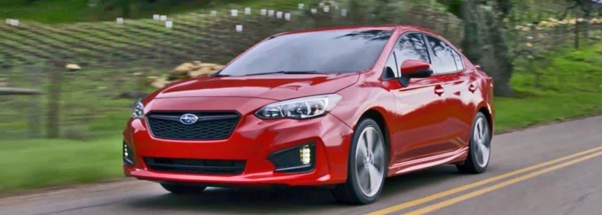 2018 Subaru Impreza - drivers side front view