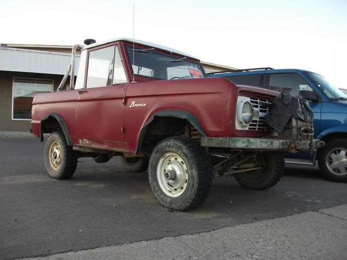 1969-1972 Ford Bronco