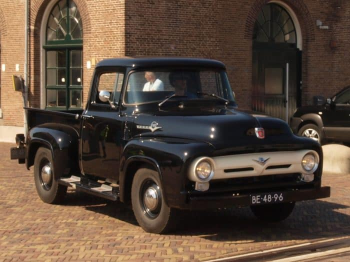 The 1956 Ford F-Series is one of the best old trucks for sale - if you can find one