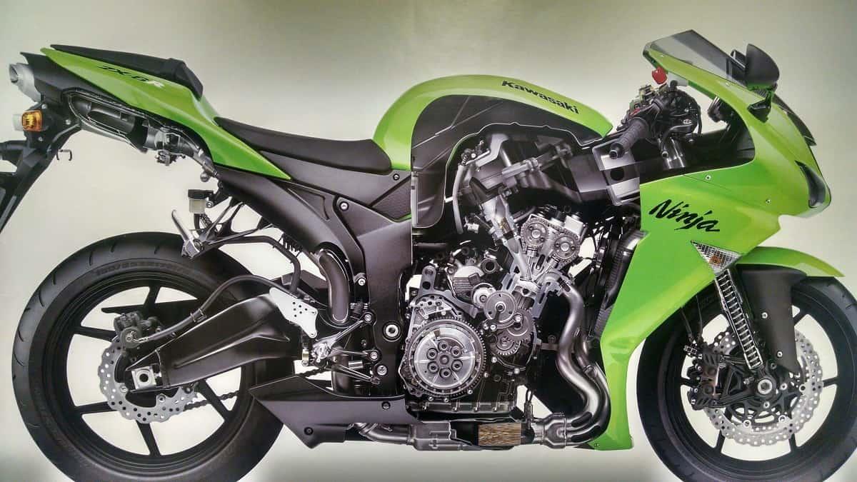 Latest Automotive News Humor And Reviews Kawasaki Honda Cb750 Engine Cutaway