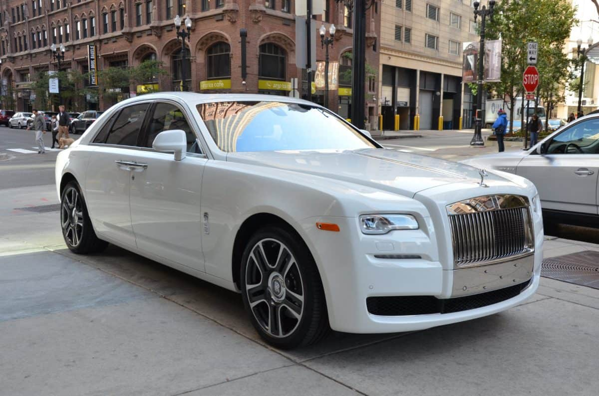2019 Rolls Royce Ghost is by far the most outdated Rolls Royce model in 2019