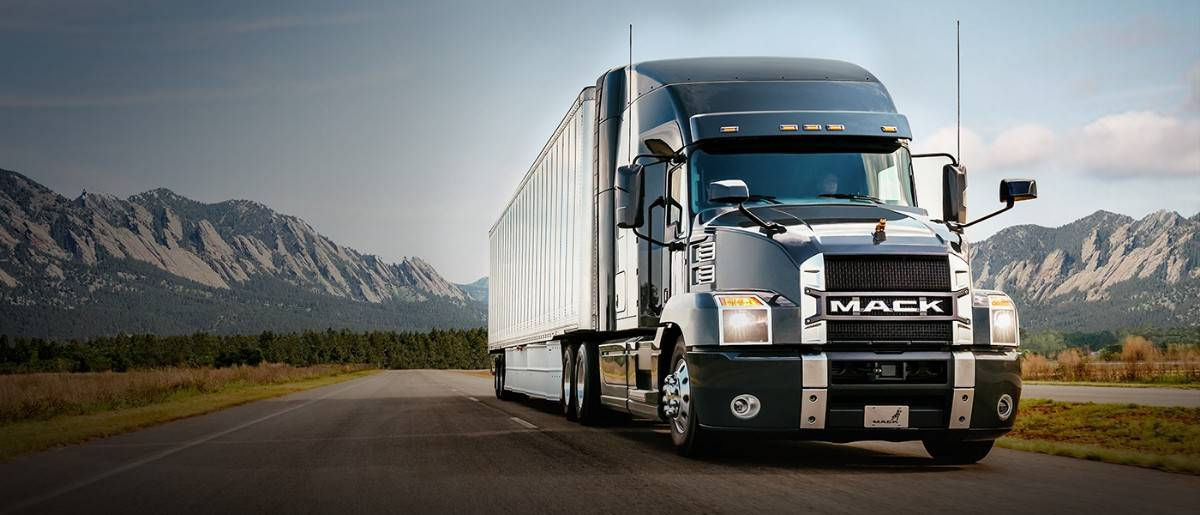 mack trucks - right front view