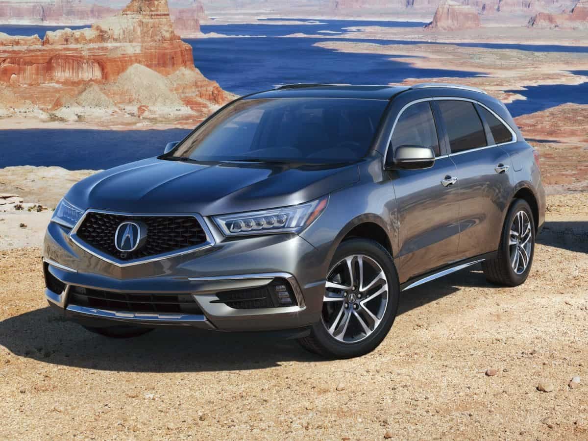 Best Acura Cars 2019 - Acura MDX front 3/4 view