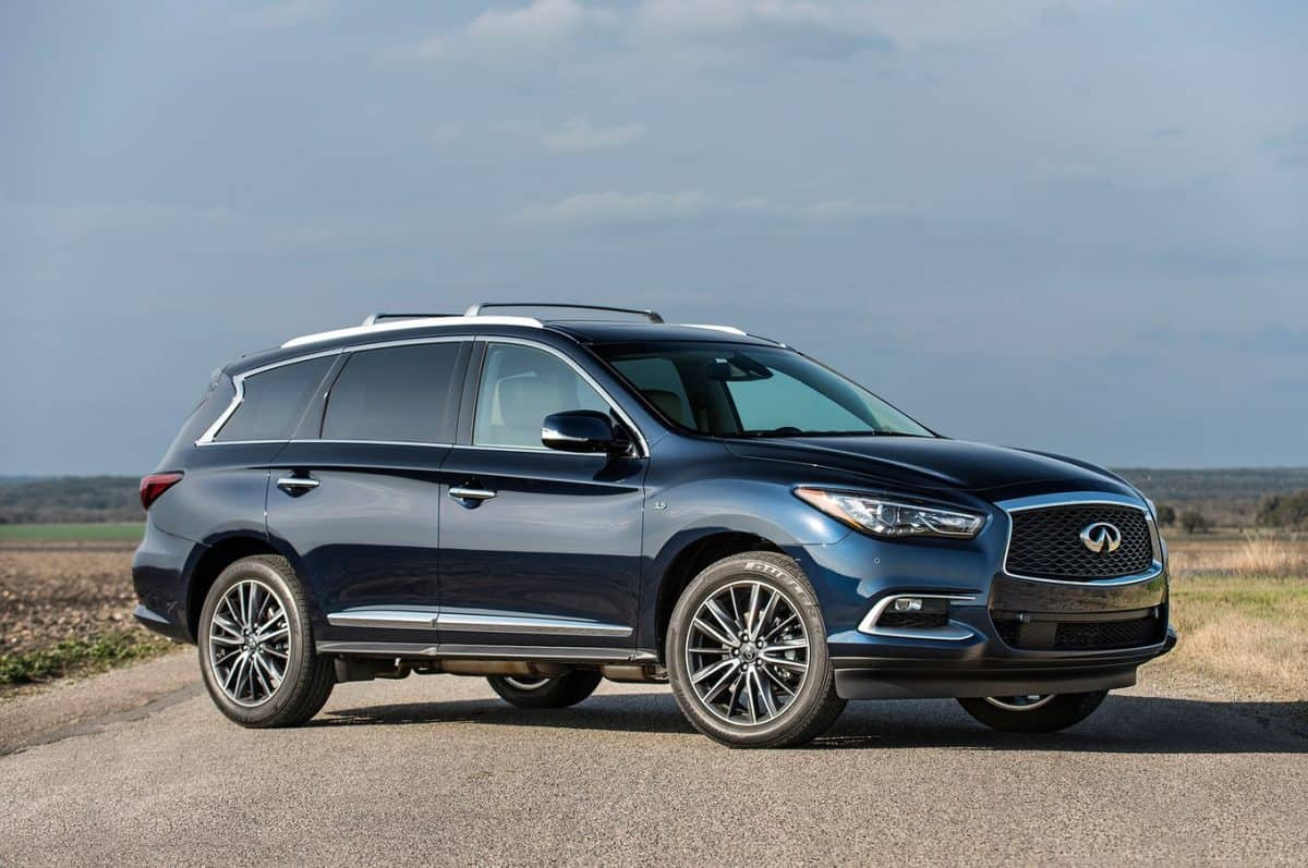 2019 New Infiniti QX60 side view