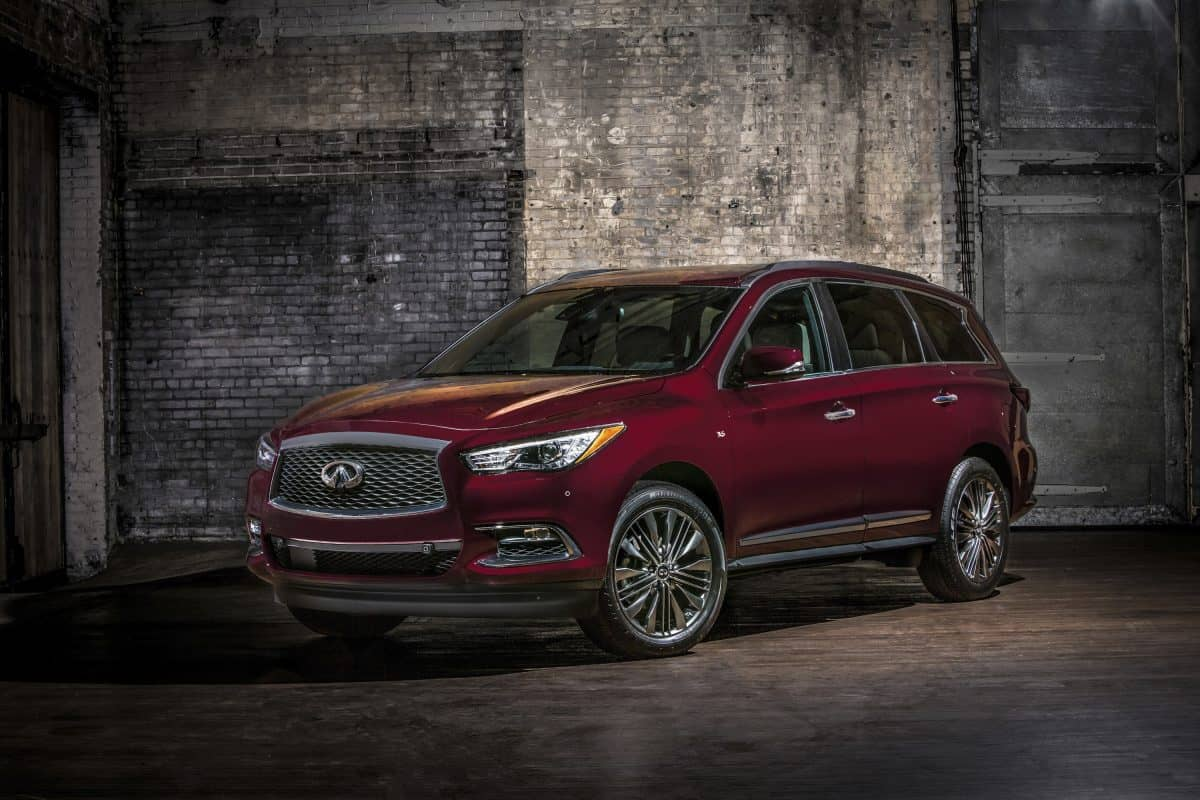 2019 New Infiniti QX60 Limited 3/4 view