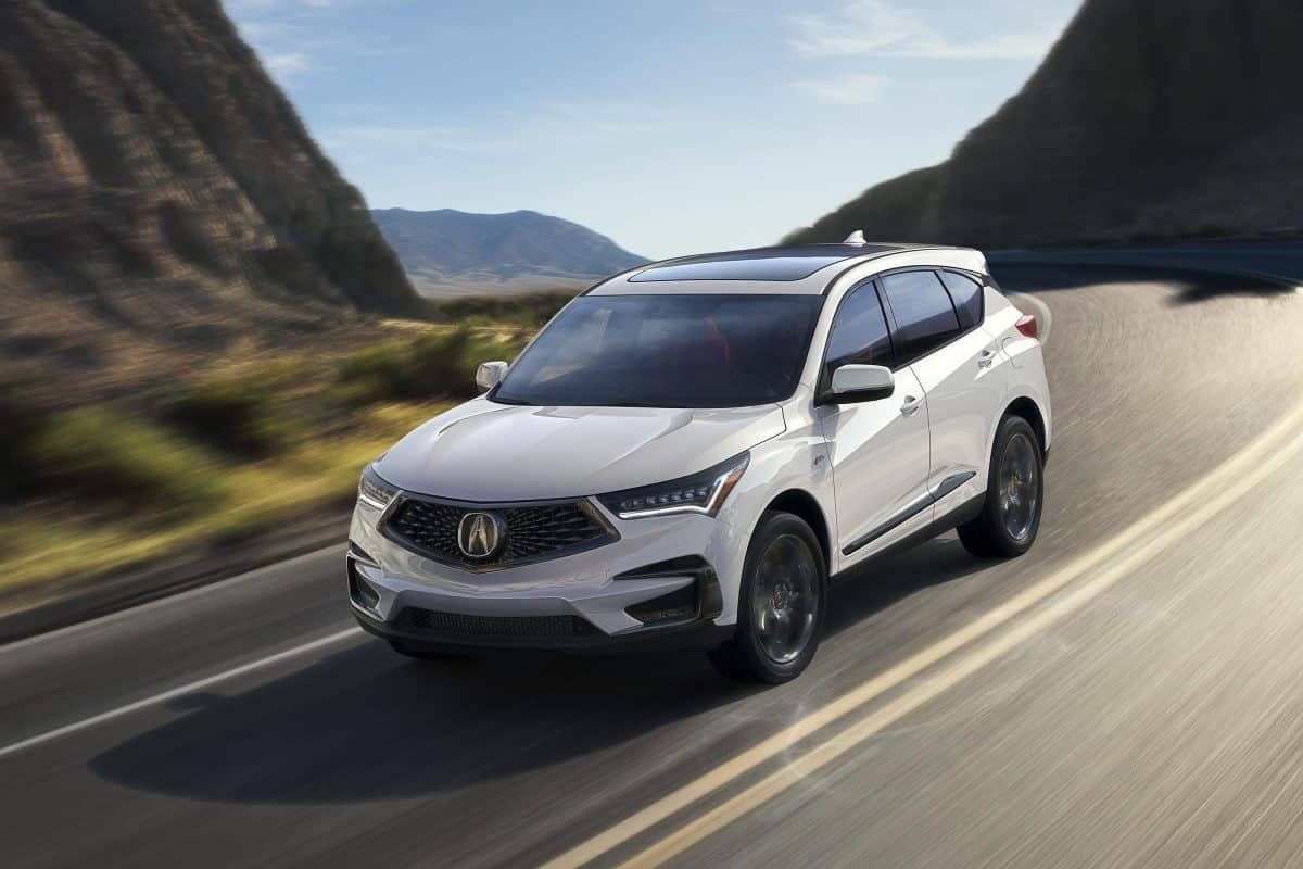 Best Acura Cars 2019 - 2019-year model Acura RDX front 3/4 view