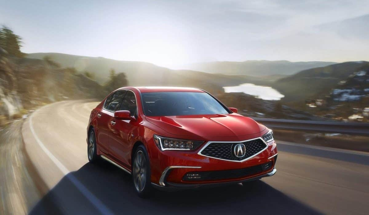 Best Acura Models 2019 - Acura RLX front 3/4 view