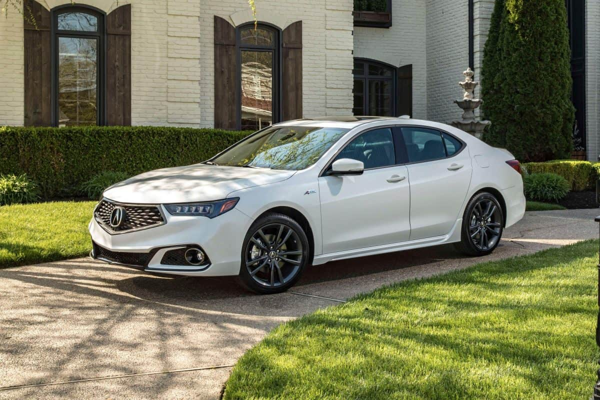 Best Acura Models 2019 - Acura TLX for 2019 3/4 view