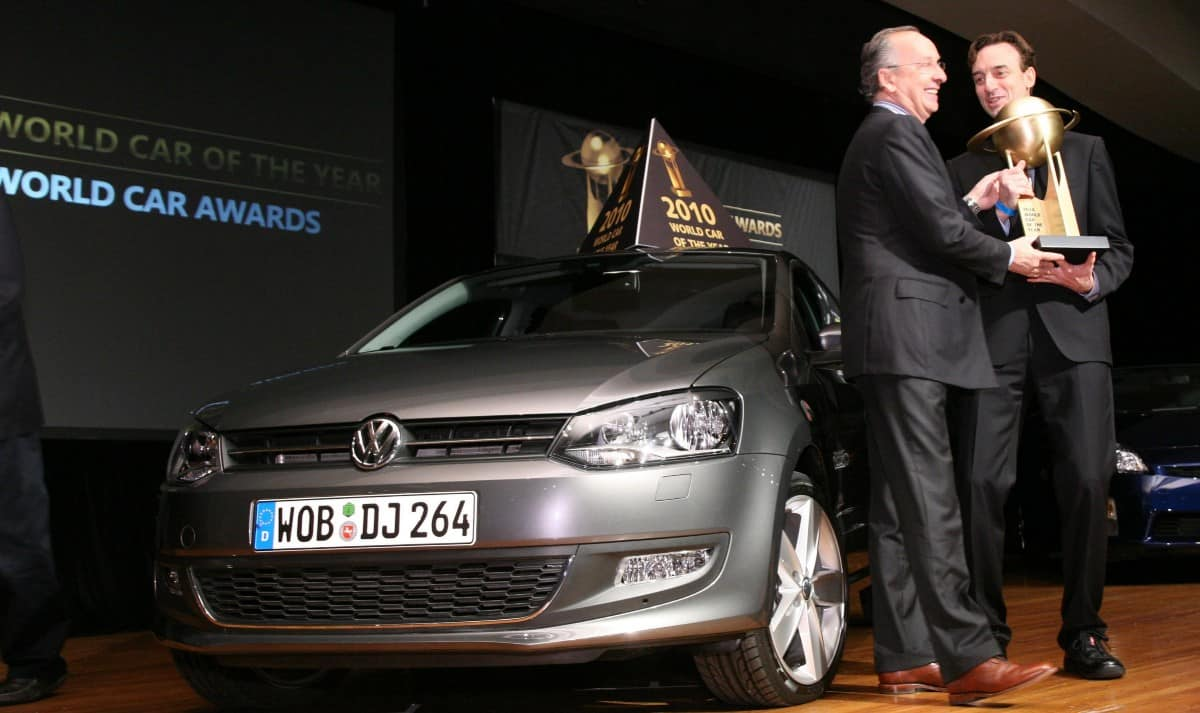 volkswagen awards - 2010 polo
