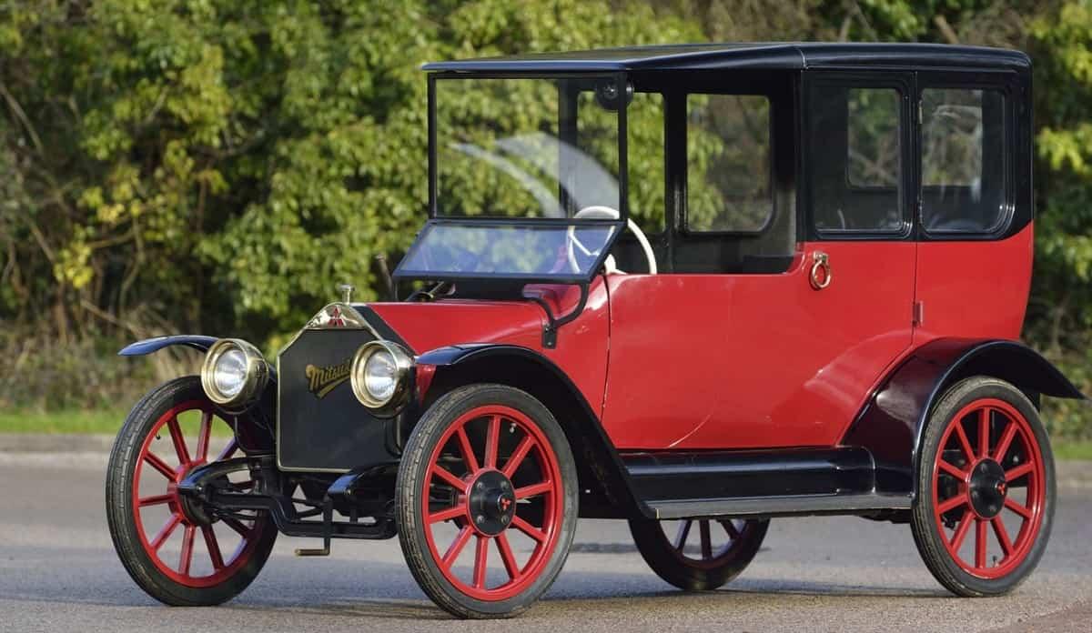 1917 Mitsubishi Model A - first model