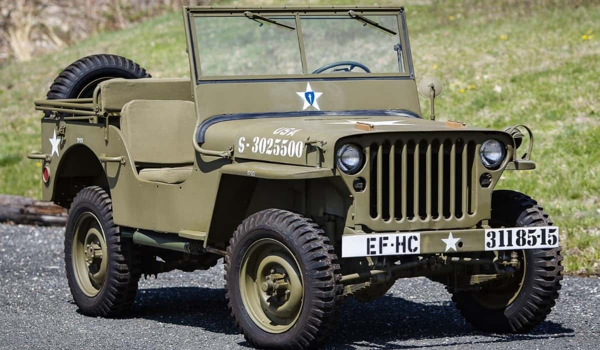 1944 Willys Model MB - right front view