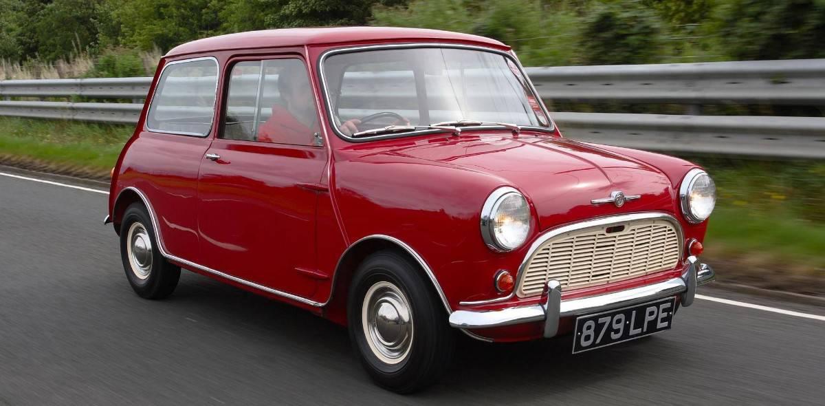 1959 Mini - right front view