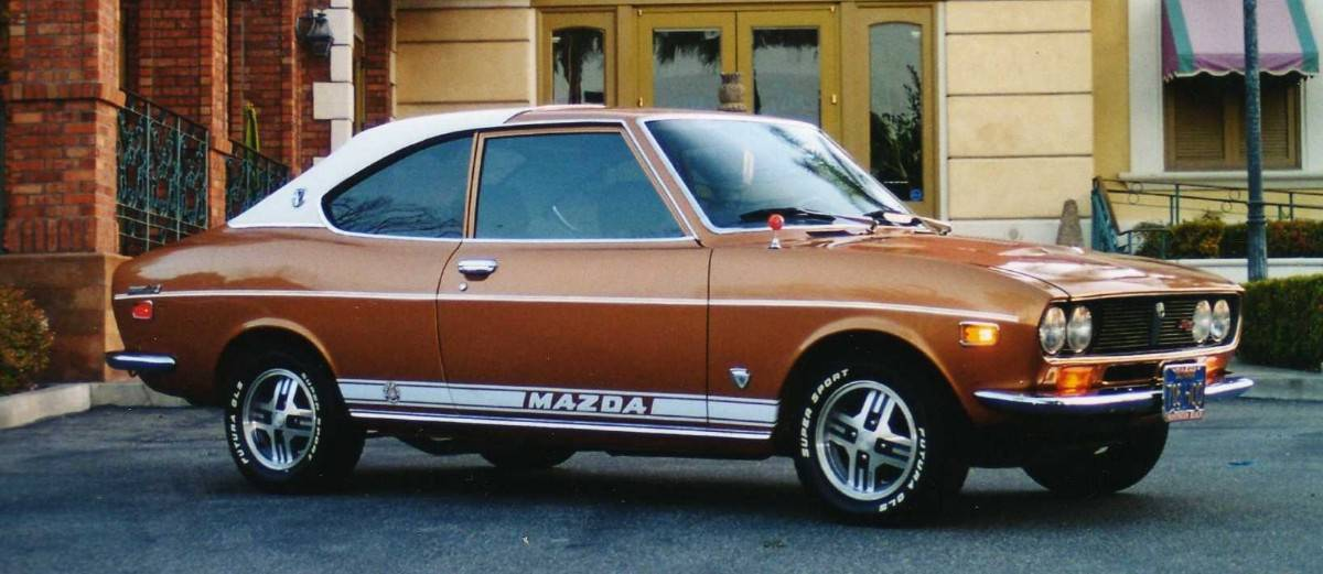 1973 Mazda RX-2 - right side view