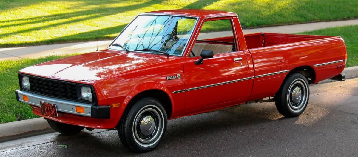 1982 Dodge Ram 50 - drivers side view
