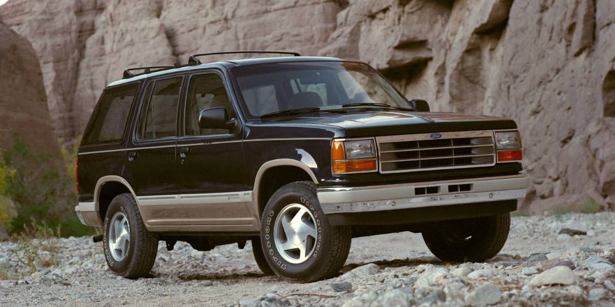 1991 Ford Explorer - top selling SUV