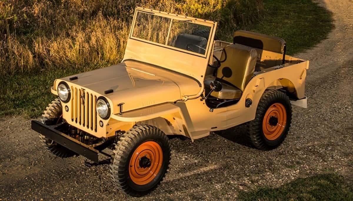 1940's Jeep CJ-2A - universal