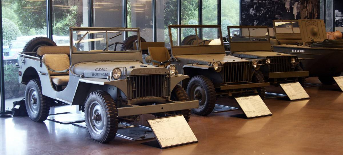 Omix-ADA military Jeep collection