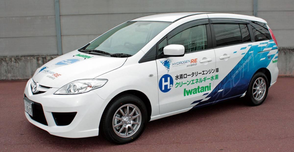 Mazda Premacy - hybrid minivan