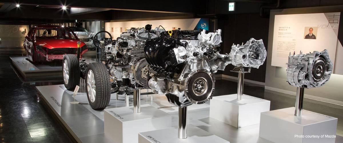 Mazda museum Hiroshima Japan