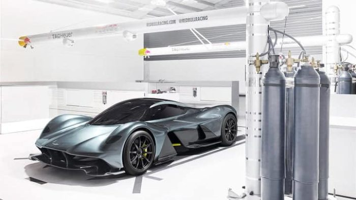 Aston Martin Valkyrie, a new chapter in sports cars