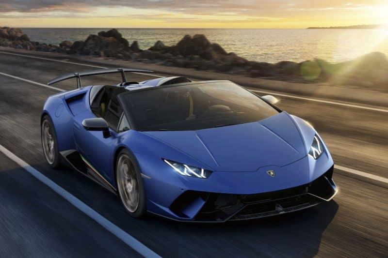 Lamborghini Huracán 640-4 Performante Spyder 3/4 view