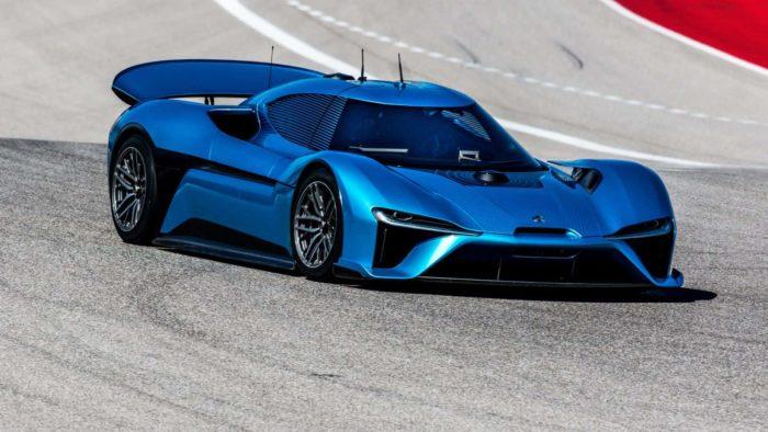 NIO EP9 - The World's fastest electric car